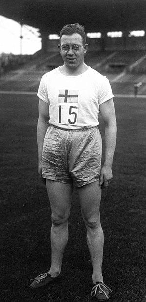 Bertil Jansson - Bertil Jansson in 1926