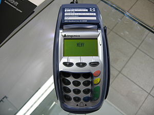 Point-of-sale malware - A point of sale card terminal