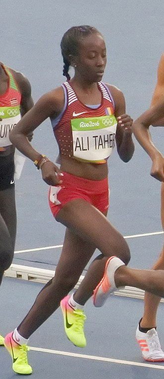 Chad at the 2016 Summer Olympics - Bibiro Ali Taher, competing in the women's 5000 metres at the 2016 Summer Olympics