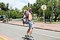 Bicis, rollers y skate en Palermo (8391464545).jpg