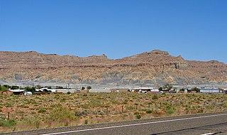 Big Water, Utah Town in Utah, United States