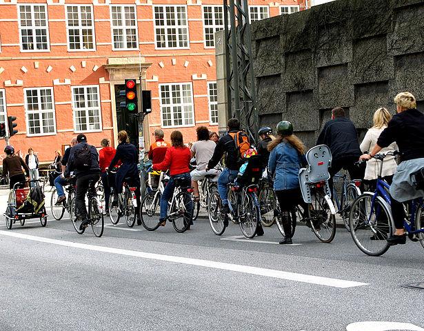 """Полиция Дании проводит """"акцию безопасного движения велосипедов и мопедов"""""""