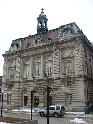 Binghamton City Hall - Binghamton City Hall, December 2008