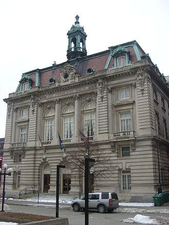 National Register of Historic Places listings in Broome County, New York - Image: Binghamton City Hall Dec 08