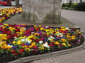 Birmigham, Broad Street spring flowers near Boulton, Watt & Murdoch (13645942753).jpg
