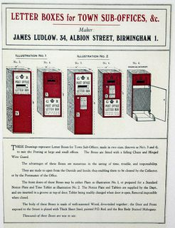 Ludlow wall box