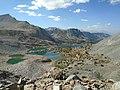 Bishop Lakes from Bishop Pass Trail, Eastern Sierra Nevada, California.jpg