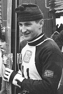 Bjørn Wirkola Norwegian ski jumper