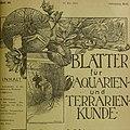 Blätter für Aquarien- und Terrarien-Kunde (1905) (20199471528).jpg