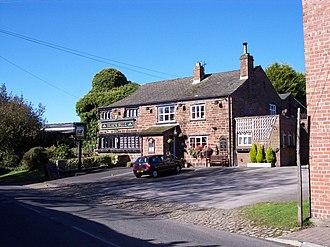 Listed buildings in Mawdesley - Image: Black Bull, Mawdesley