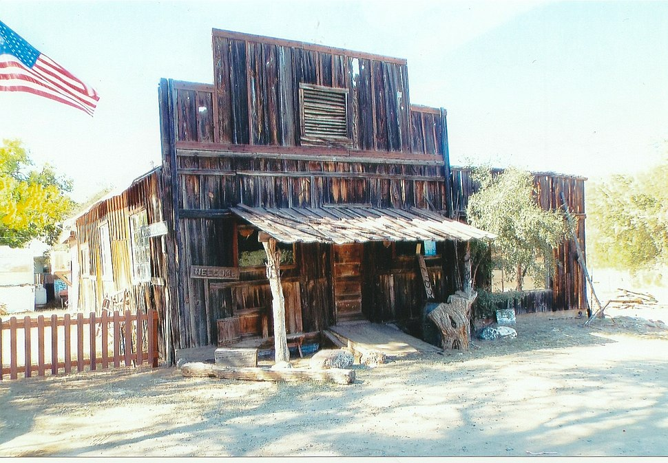 Black Canyon City-Wells Fargo Stage Stop-1872