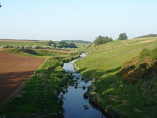 Blackadder Water river in the United Kingdom