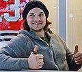 Blackhawks Daniel Carcillo — at McCormick Place IMG 2362 (8519638854) (cropped).jpg