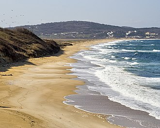 Bulgarian Black Sea Coast - A beach close to Dyuni