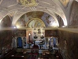 Borgosandalmazzo santuario madonna monserrato interno