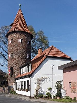 Borken, North Rhine-Westphalia - Image: Borken, der Kuhmturm Dm A2 foto 3 2015 04 20 16.51