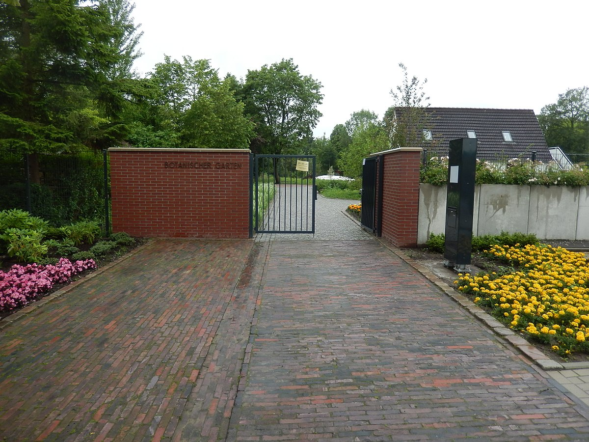 Botanischer Garten Wilhelmshaven Wikipedia