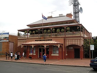 Bourke, New South Wales - Bourke Post Office - built 1880