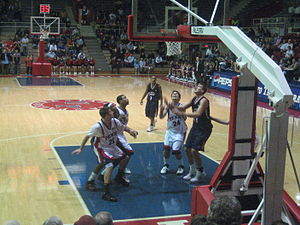 Palestra - Penn playing at the Palestra