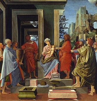 Bramantino - Bramantino, Adoration of the Magi, National Gallery, London
