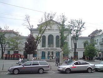 Marketplace - The Old Market building in Bratislava, Slovakia