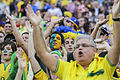 Brazil and Croatia match at the FIFA World Cup (2014-06-12; fans) 20.jpg