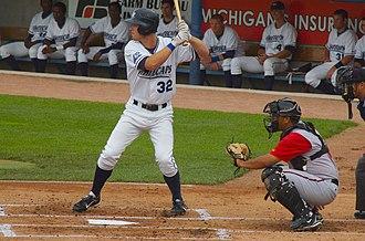 Brennan Boesch - Boesch playing for West Michigan in 2007