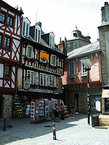 Quimper, With Its Vernacular Architecture, Is A Popular Tourist Destination