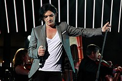 Brian Molko in the European Parliament.jpg