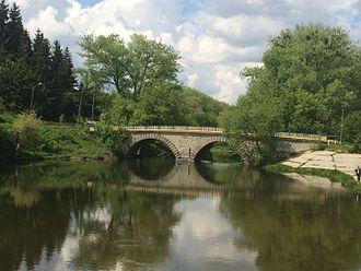 Khmilnyk - Bridge in Venetian style