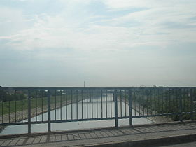 Bridge over the Danube-Tisa-Danube Canal, Novi Sad, Vojvodina, Serbia.jpg