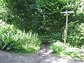 Bridleway crossroads in Perry Wood - geograph.org.uk - 1371840.jpg