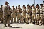 Brig. Gen. Larry Nicholson addresses British Operational Maneuver Liaison Team 090911-M-AY743-011.jpg
