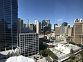 Brisbane CBD seen from the clock tower at the Brisbane City Hall 02.jpg