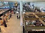 Brisbane International Terminal the Arrivals level.jpg