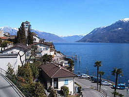 Skyline of Brissago