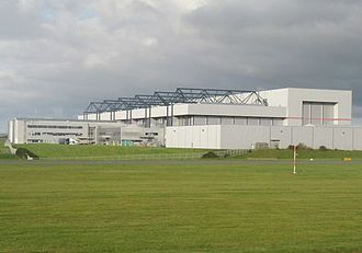 Cardiff Airport - British Airways Maintenance Centre, Cardiff Airport