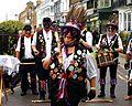 Broadstairs Folk Week morris dancers at Broadstairs Kent England 1.jpg