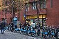 Broadwick Street, Soho - Cowling and Wilcox, boris bikes.jpg