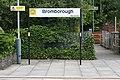 Bromborough station sign (28652869885).jpg