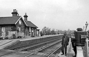 North Eastern Railway (United Kingdom) - Brompton station on the Leeds Northern line in 1961