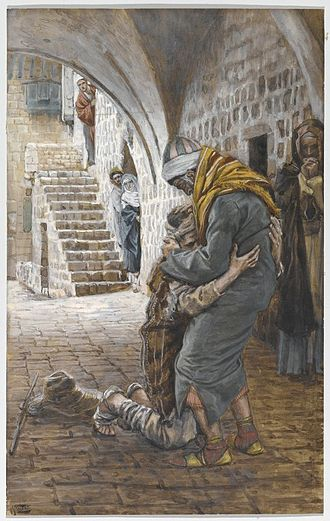 Parable of the Prodigal Son - James Tissot – The Return of the Prodigal Son (Le retour de l'enfant prodigue) – Brooklyn Museum