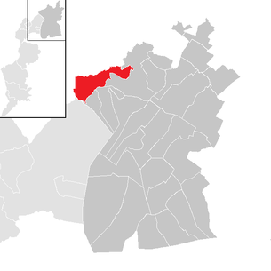 Location of the municipality of Bruckneudorf in the Neusiedl am See district (clickable map)