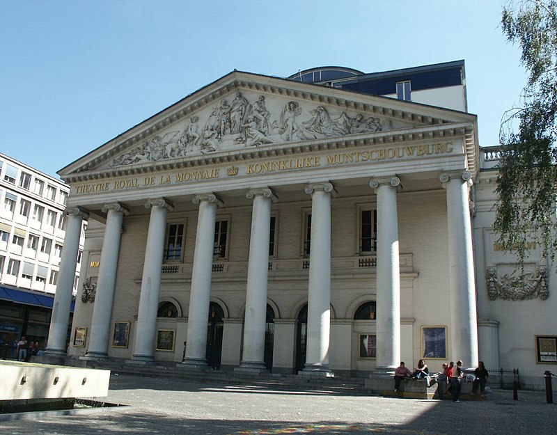 Brussel Muntschouwburg