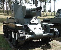 BT-42 v muzeu ve Finsku