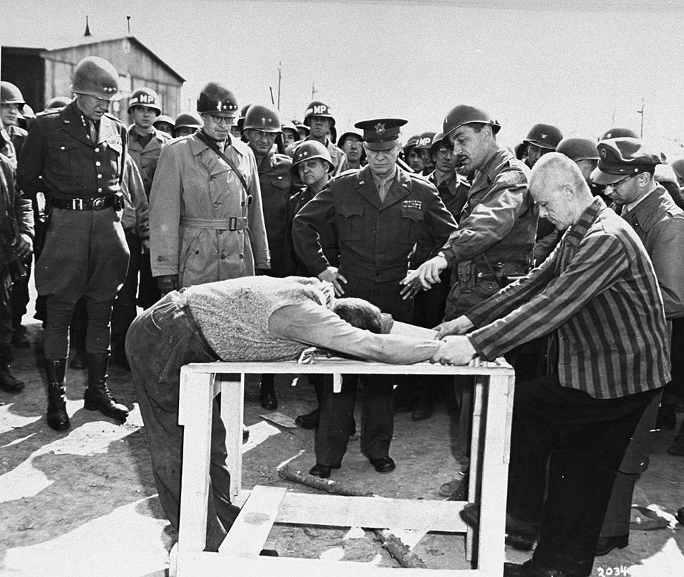 Buchenwald Eisenhower torture demonstration 63511