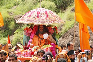 Yatra - Image: Buddha Amarnath Yatra procession, Poonch