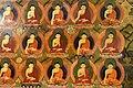 Buddhas painting in the chapel housing the burial chorten of the 10th Panchen Lama, Tashilhunpo Monastery, Shigatse, Tibet (6).jpg
