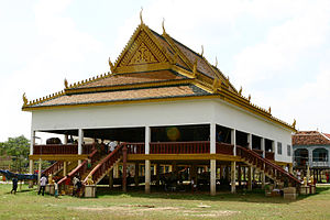 Steung Treng Province - Buddhist temple in Steung Treng Province