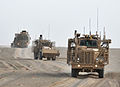 Buffalo Vehicle Part of Talisman Suite in Convoy in Afghanistan MOD 45153766.jpg